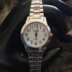 Vintage ladies CG stainless steel band watch